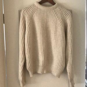 Zara ribbed wool sweater
